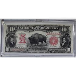 1901 $10 BUFFALO NOTE  NICE UNC