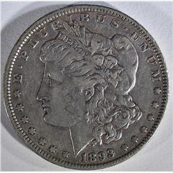 1893 MORGAN DOLLAR  XF-AU