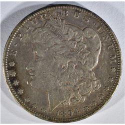 1894-S MORGAN DOLLAR  XF-AU