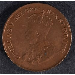 1923 CANADA ONE CENT GEM R & B  BU
