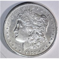 "1879-CC ""CLIPPED"" MORGAN DOLLAR"