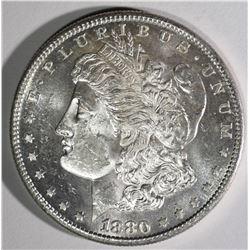1880-S MORGAN DOLLAR CHBU PL
