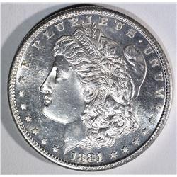1881-S MORGAN DOLLAR CHBU PROOF LIKE