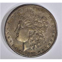 1889-CC MORGAN DOLLAR  AU+