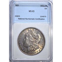 1901 MORGAN DOLLAR NNC CH BU+