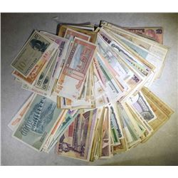 200+ PIECES FOREIGN CURRENCY RANDOMLY SELECTED
