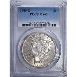 1900-O MORGAN DOLLAR PCGS MS63