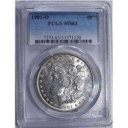1901-O MORGAN DOLLAR PCGS MS63