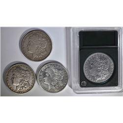 DOLLARS: 1892-O VF, 1921-S VF, 1921-S XF