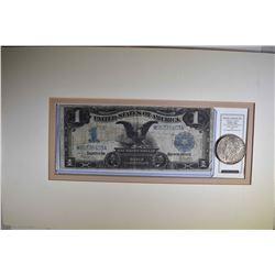 """1899 $1 SILVER CERT """"BLACK EAGLE"""" plus"""