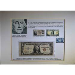 1935A $1 HAWAII SILVER CERT w/STAMP