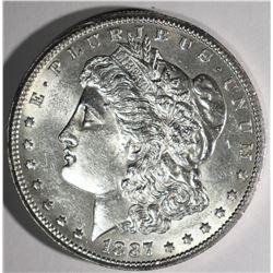 1887-S MORGAN DOLLAR CHBU