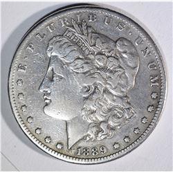1889-CC MORGAN DOLLAR VF KEY DATE