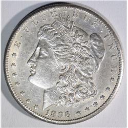 1896-S MORGAN DOLLAR AU/BU