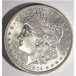 1904 MORGAN DOLLAR CHBU+