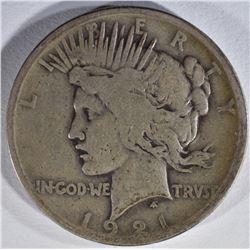 1921 PEACE DOLLAR FINE