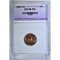 1960 LARGE DATE LINCOLN CENT APCG