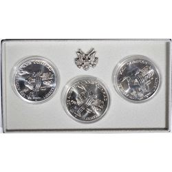 1983 OLYMPIC UNC SILVER DOLLARS