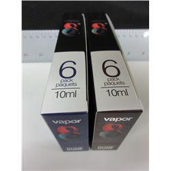 3 New cases of Vapor 8 Premium Liquid Vapor Juice nicotine free