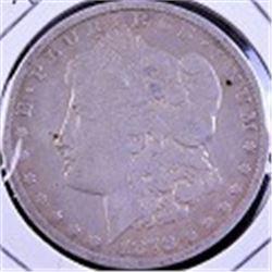 1878 Carson City Silver dollar.