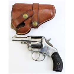 The American .38 cal nickel plated revolver,
