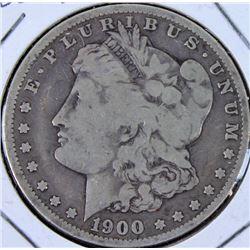 1900 O/CC silver dollar over strike.
