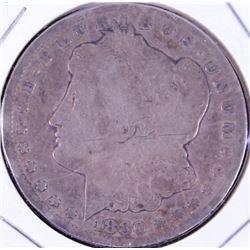 1880 Carson City silver dollar.