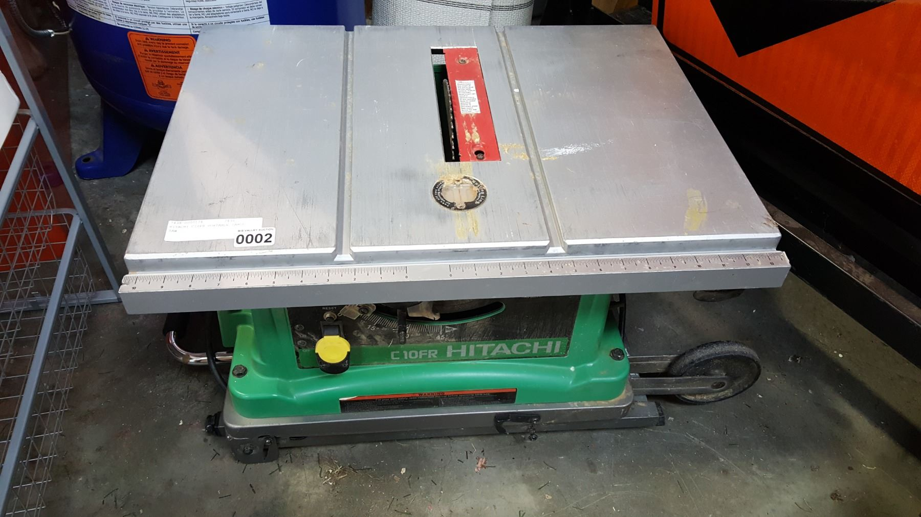Hitachi C10fr Portable Table Saw