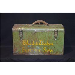 Vintage Black & Decker Electric Saw