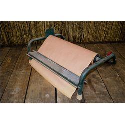 Vintage paper roll holder/cutter