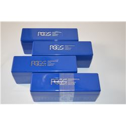 4-PCGS Coin Boxes