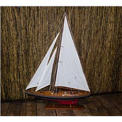 Vintage Model Ship