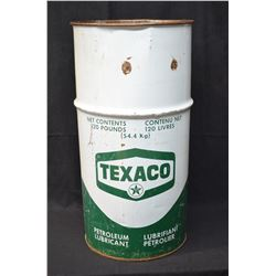 Vintage Petroliana Texaco Drum
