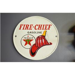 Fire Chief Sign