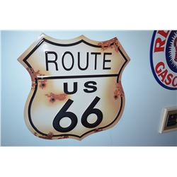 Fantasy Route 66 Sign
