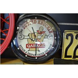 Busted Knuckle Garage Clock (Working)