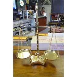 Vintage Solid Brass Scale