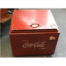 Wooden Coca-Cola Ice Chest