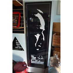 """The Godfather"" Poster  (Identical to Lot #6)"