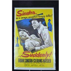 "Vintage Sinatra Poster ""Suddenly"""