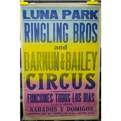 Original 1961 R.B.B.B. Luna Park One Sheet Poster
