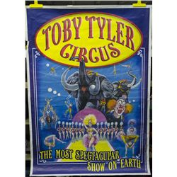 Original Large Toby Tyler Framed Poster