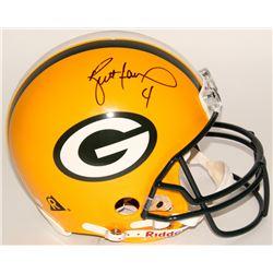 """Brett Favre Signed Green Bay Packers """"On-Field"""" Full-Size Authentic Proline Helmet (JSA LOA)"""