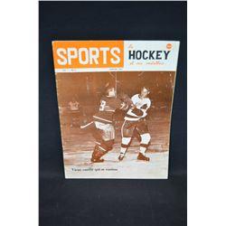 1963 Sports Mag - Gordie Howe Cover