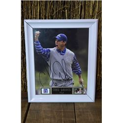 Framed Chris DiMarco Autographed Photo