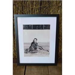 Framed Johnny Bower Autographed Photo