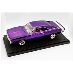1969 Dodge Charger Hot Wheels Metal Collection 1:18 scale