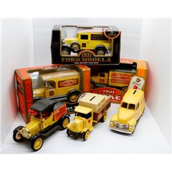 Lot of 7 Home Hardware Vehicles
