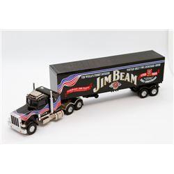 John Beam semi truck Peterbuilt Matchbox 1:64 No Box