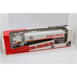 Radio Shack tractor trailer Ertl 1:64 scale Has Box